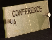 Conference Room Photopolymer Signs