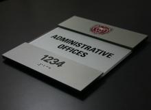 Custom Acrylic - Admin Offices
