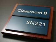 Custom Acryclic - Classroom B