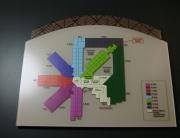 Directory multicolored mall